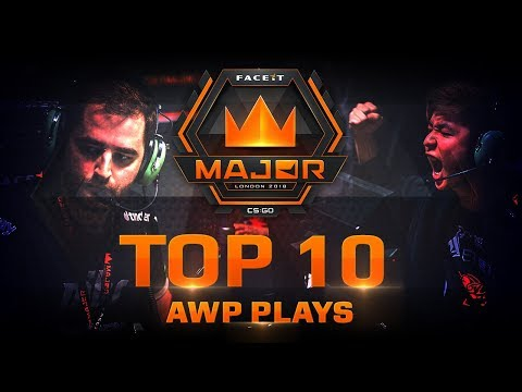 TOP 10 Awp plays of FACEIT London Major