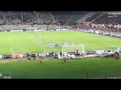 Fiorentina-Esbjerg Gol di Ilicic (live) preannunciato
