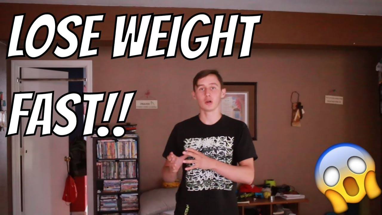 how to lose weight fast as a 12 year old boy