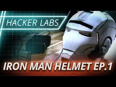 Hacker Labs: Iron Man Helmet Challenge Ep. 1 | Full Sail University