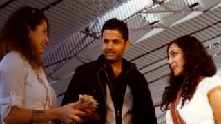 Nitin And Nithya Menen Comedy Scene At Airport - Ishq Movie - Nitin, Nithya Menen