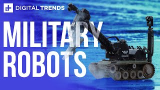 Will military robots be used to take over the world? | Robots Everywhere
