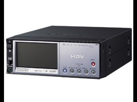 SONY HDV VCR WINDOWS 8 DRIVERS DOWNLOAD (2019)