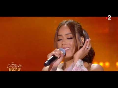 Youtube: Amel Bent x Imen Es – Jusqu'au bout – Fête de la musique (France 2)