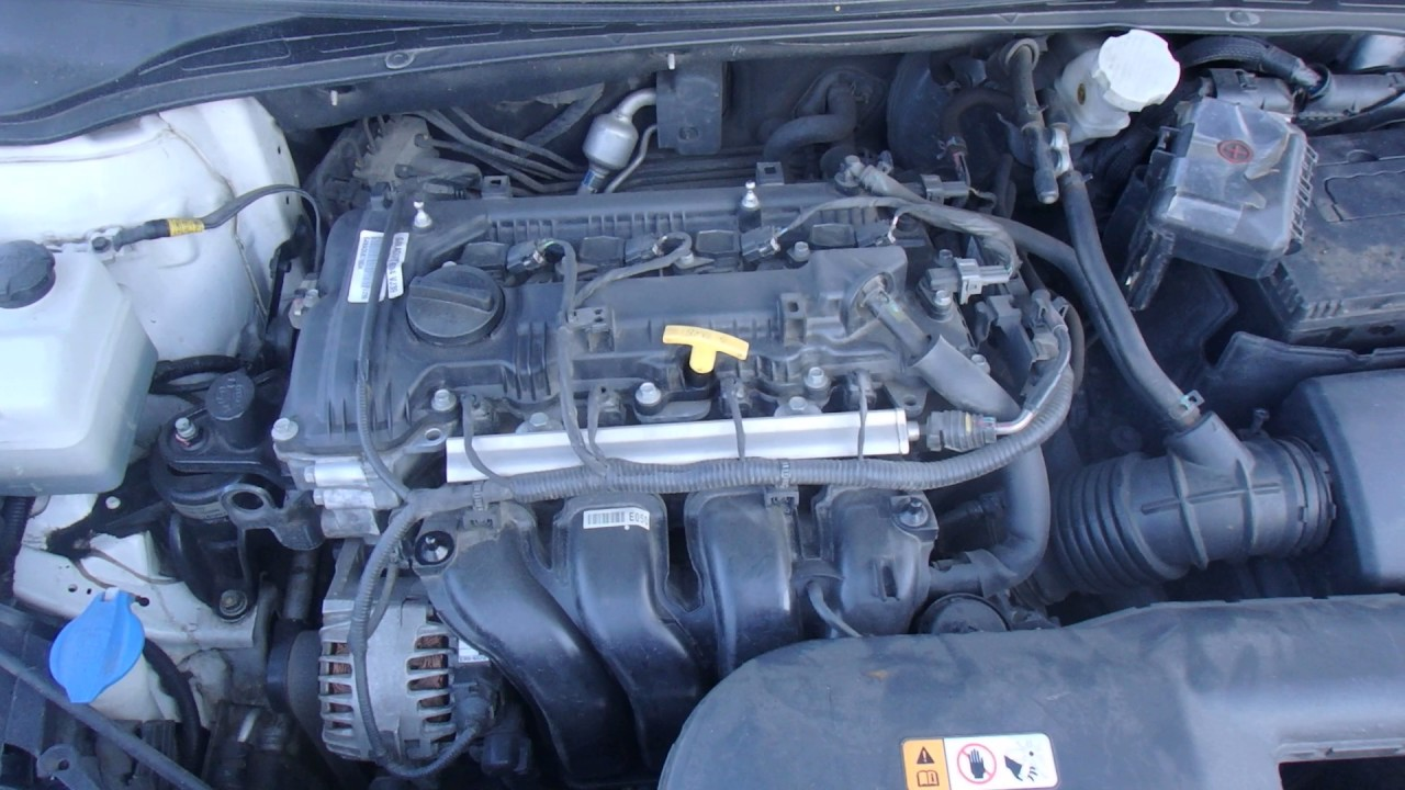 Двигатель Hyundai для i40 2011 после - YouTube