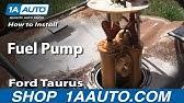 Fuel Pump Diagnosis Ford Taurus 2001 - YouTube