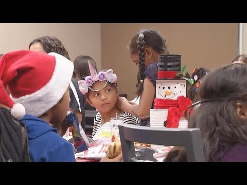 Bakersfield Christian High School hosts elementary students for surprise holiday party