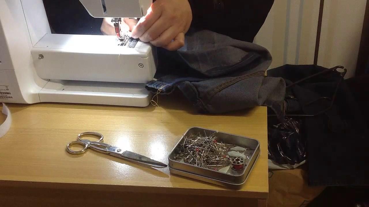 kopie von sieh was man aus einer alten jeans machen kann. Black Bedroom Furniture Sets. Home Design Ideas