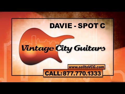 Vintage City Guitars TV Commercial (Davie, FL - Spot C, 30 sec)