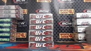 2019 Topps UFC Knockout 6Box Half Case Fighter Break #28 (8-20-19)
