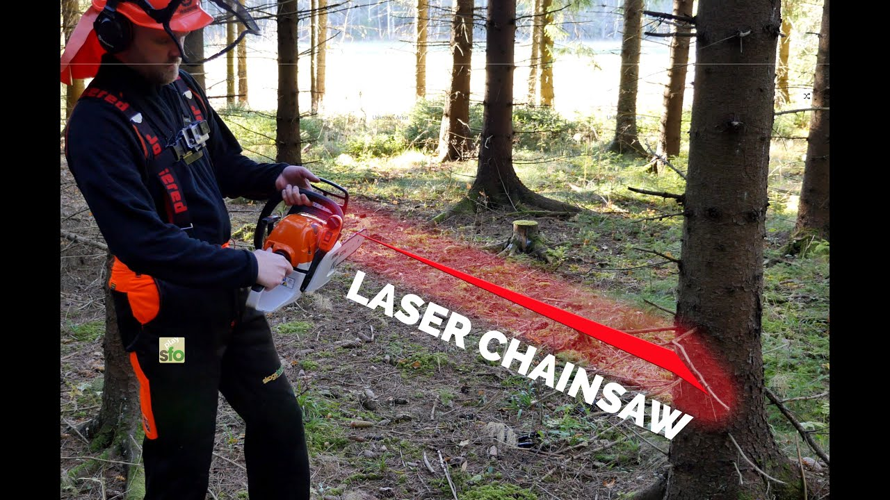 stihl 2 in 1 laser chainsaw review with subtitles youtube. Black Bedroom Furniture Sets. Home Design Ideas
