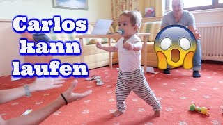 Carlos lernt im Urlaub laufen - Familienurlaub in Österreich - Vlog#1000 Rosislife