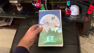 Opening To E.T. The Extra Terrestrial 2002 VHS Side Label 599