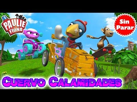 Paulie y Fiona 2 | Cuervo Calamidades | Compilación | Caricaturas para Niños en Español