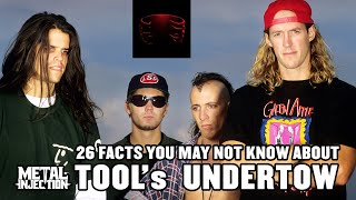 26 Things About TOOL#39s Undertow That You May Not Know For The 26th Anniversary Metal Injection