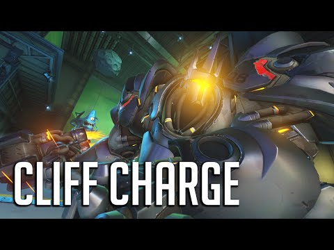 CLIFF CHARGE! Teenage Ninja Turtle Strategy, Reinhardt Jets in
