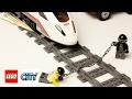 Лего поезд играем в железную дорогу с минифигурками. Лего Скоростной Поезд 60051. Новые Серии