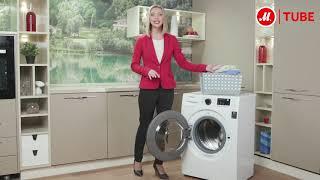 Огляд вузької пральної машини Samsung WW60J30G03W від експерта «М. Відео»
