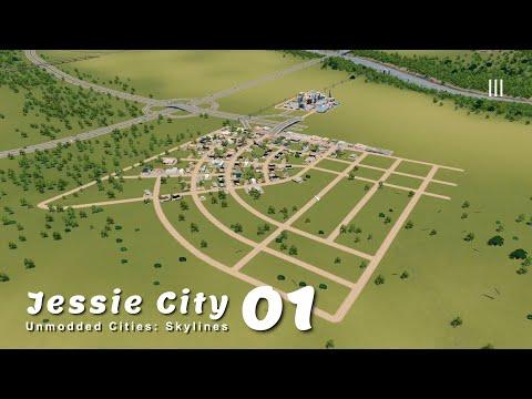 วิธีเริ่มต้นเมืองแบบไม่เจ๊ง 200% ในปี 2021 | Unmodded Cities: Skylines – Jessie City 01