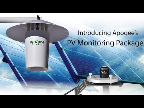Introducing Apogee's PV Monitoring Package