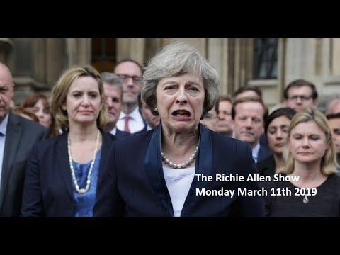 The Richie Allen Show - Monday March 11th 2019