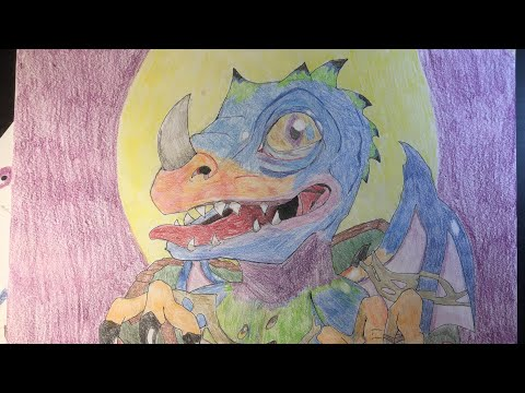 Draw A Realistic Baby Dragon Dessiner Un Bébé Dragon