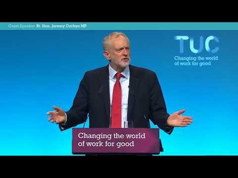 Jeremy Corbyn's speech to Congress 2017