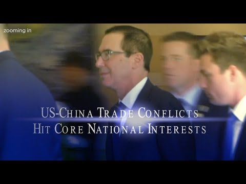 US-China Trade Conflicts Hit Core National Interests