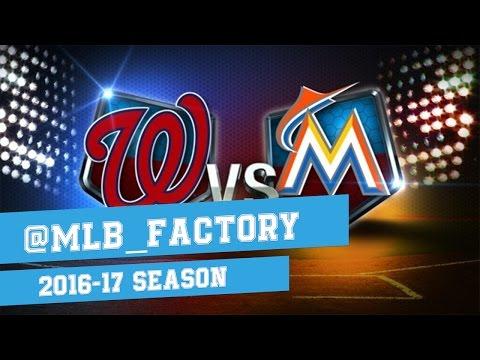 Miami Marlins vs Washnigton Nationals - Full Game Highlights | April 7, 2016