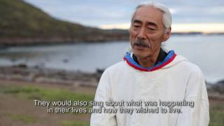 English Subtitles Master Class Inuit Drum Pakak Innuksuk