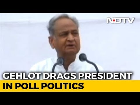Ashok Gehlot's Caste Comment on President Kovind Draws BJP Wrath