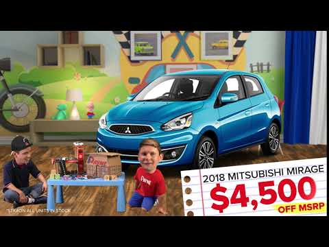 Get $4,500 OFF MSRP on a NEW 2018 Mitsubishi Mirage | Payne Mission | Mission, Texas