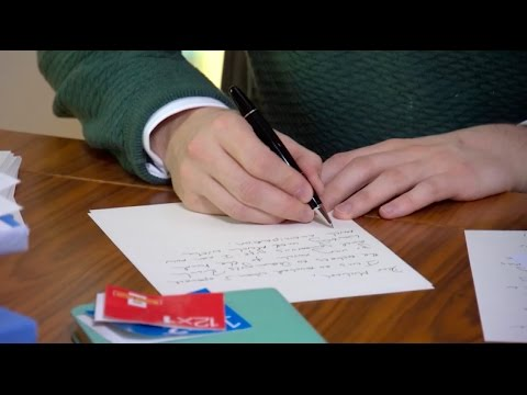 ITV Granada Reports - The importance of thank you letters