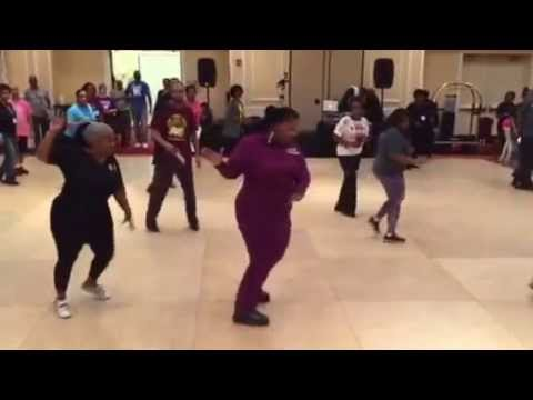 UC Star Awards Brunch 2015: Keep Your Head Up Line Dance