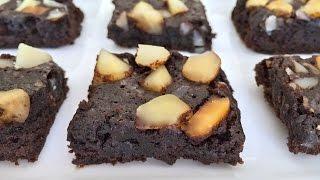 Filthy Rich Brownies - Dark Chocolate Macadamia Nut