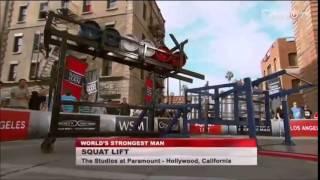 2014 World's Strongest Man - Heat 1
