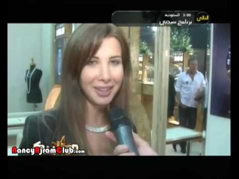 Nancy Ajram - Beirut's Week For Jewelry Interview (Mozaic TV
