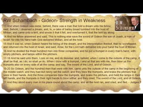Gideon - Strength in Weakness - RW Schambach