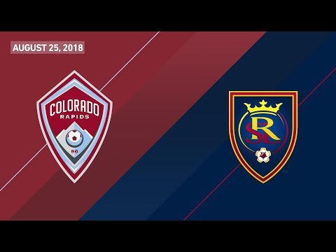 HIGHLIGHTS: Colorado Rapids vs. Real Salt Lake | August 25, 2018