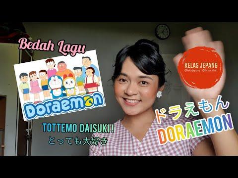 Bedah Lagu Doraemon Versi Bahasa Jepang  | Belajar Bahasa Jepang