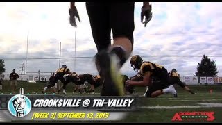 HS Football: Crooksville at Tri-Valley (9/13/13)