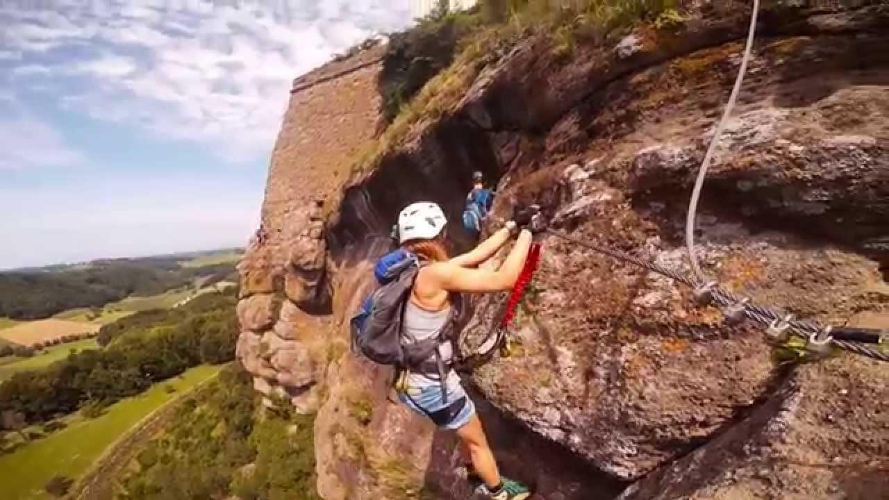 Klettersteig Riegersburg : Leopold klettersteig riegersburg youtube