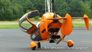 Private AutoGyro [D-MGBD] Takeoff @ Berlin-Gatow 08.09.2013