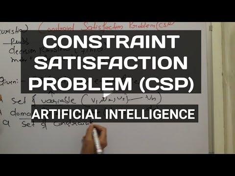 12.Constraint Satisfaction Problem | Artificial intelligence