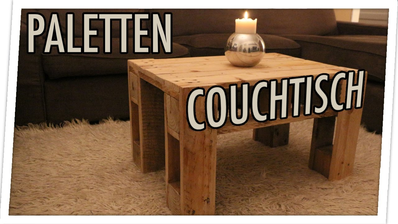 palettenm bel selber bauen der diy paletten couchtisch youtube. Black Bedroom Furniture Sets. Home Design Ideas