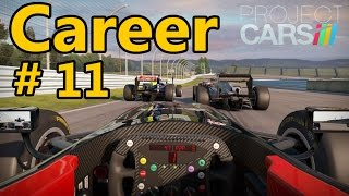 Project CARS Gameplay PC : Formula B Career TrackIR Donington 1080p 60fps Helmet Cam 1/2