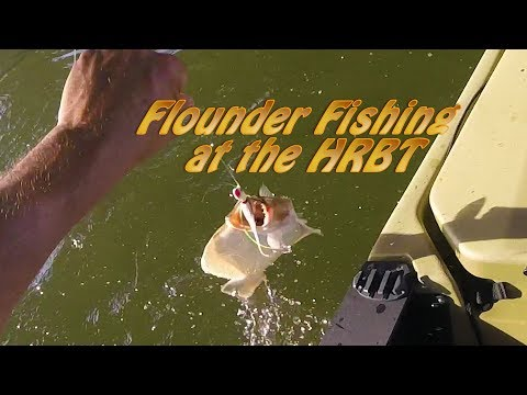 Fishing For Flounder At The HRBT