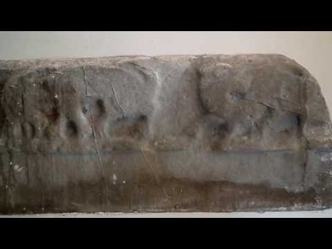 The Fairlie Stone - A Circa 10th Century Celtic Tombstone Fragment