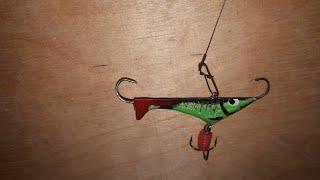 Балансир на Окуня своими руками. Изготовление балансиров. Рыбалка. Fishing.