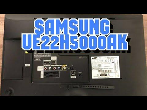 Видео Телевизор samsung ue22h5600ak инструкция скачать
